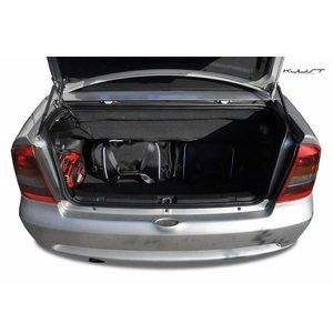 Kjust Opel Astra Cabrio | bouwjaar 1998 t/m 2009 | Kjust Car Bags | set van 4