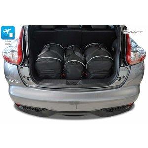 Kjust Nissan Juke | bouwjaar 2010 t/m 2019 | Kjust Car Bags | set van 3