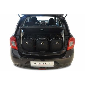 Kjust Nissan Micra | bouwjaar 2010 t/m heden | Kjust Car Bags | set van 3