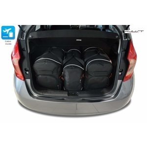 Kjust Nissan Note | bouwjaar 2013 t/m heden | Kjust Car Bags | set van 3