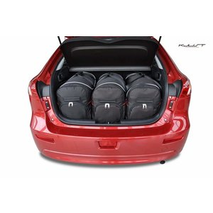 Kjust Mitsubishi Lancer Sportback | bouwjaar 2007 t/m 2016 | Kjust Car Bags | set van 3