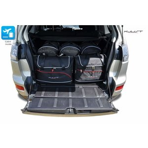 Kjust Mitsubishi Outlander | bouwjaar 2006 t/m 2012 | Kjust Car Bags | set van 5