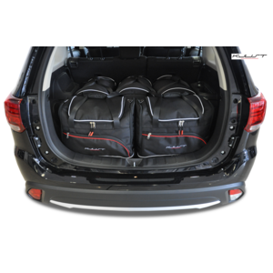 Kjust Mitsubishi Outlander | bouwjaar 2012 t/m heden | Kjust Car Bags | set van 5