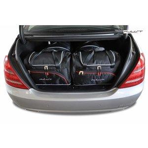 Kjust Mercedes S-Klasse   sedan   bouwjaar 2005 t/m 2013   Kjust Car Bags   set van 4