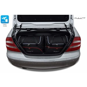 Kjust Mercedes CLK Cabrio | bouwjaar 2002 t/m 2010 | Kjust Car Bags | set van 4