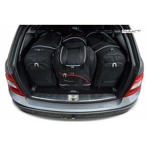 Kjust Mercedes C-Klasse Combi   bouwjaar 2006 t/m 2013   Kjust Car Bags   set van 4