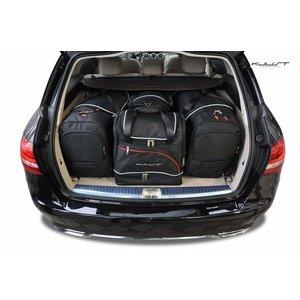 Kjust Mercedes C-Klasse Combi   bouwjaar 2013 t/m heden   Kjust Car Bags   set van 4