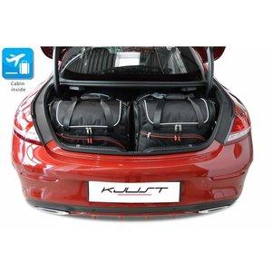 Kjust Mercedes C-Klasse Coupe   bouwjaar 2013 t/m heden   Kjust Car Bags   set van 4