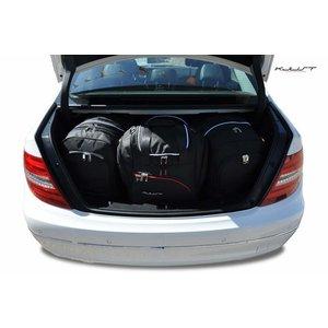 Kjust Mercedes C-Klasse Sedan   bouwjaar 2006 t/m 2014   Kjust Car Bags   set van 4
