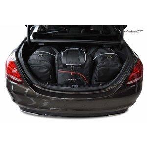 Kjust Mercedes C-Klasse Sedan   bouwjaar 2013 t/m heden   Kjust Car Bags   set van 4