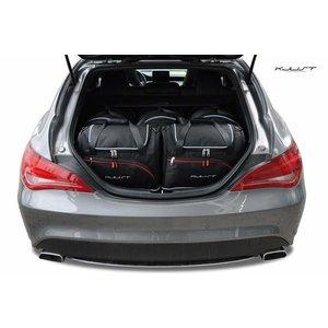 Kjust Mercedes CLA Shooting Brake | bouwjaar 2013 t/m heden | Kjust Car Bags | set van 5