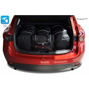 Kjust Mazda 3 Hatchback | bouwjaar 2013 t/m heden | Kjust Car Bags | set van 4