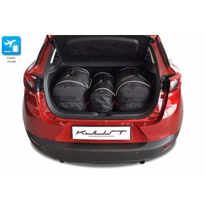 Kjust Mazda CX3 | bouwjaar 2015 t/m heden | Kjust Car Bags | set van 3
