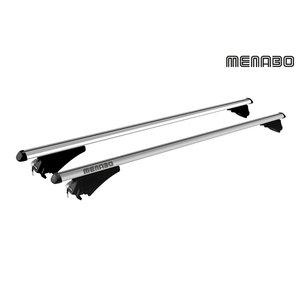 Menabo BMW X1   bouwjaar 2009 t/m 2016   gesloten dakrailing   Menabo