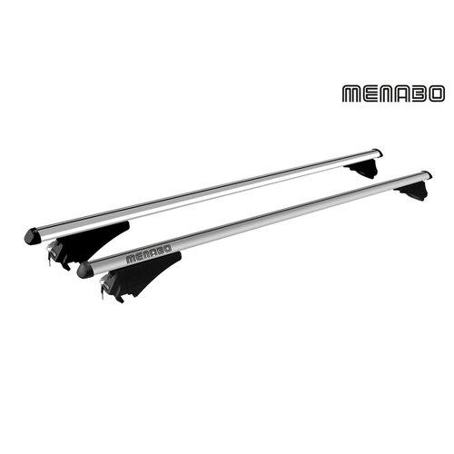 Menabo Seat Altea XL   bouwjaar 2006 t/m 2015   gesloten dakrailing   Menabo
