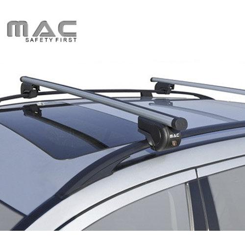 Twinny Load Dakdragers Honda Aerodek (met open dakrailing) MAC dakdragers