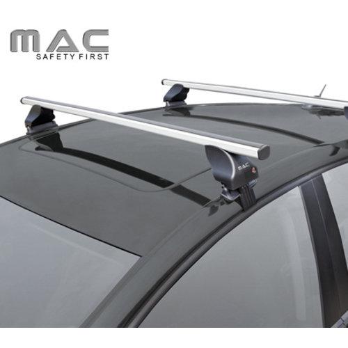 Twinny Load Fiat Punto EVO | 3 deurs | 2009 t/m 2012 | glad dak | Twinnyload dakdragers