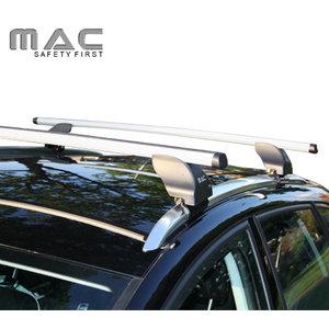 Twinny Load Audi A6 | avant | bouwjaar 2005 t/m 2011 | gesloten dakrailing | MAC