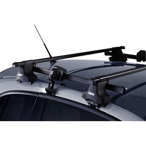Thule Toyota Auris | 3 deurs | bouwjaar 2006 t/m 2013 | glad dak | Thule