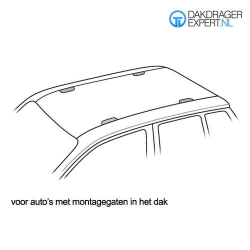 Twinny Load Mazda 3 | 5 deurs | bouwjaar 2003 t/m 2009 | montagepunten | Twinnyload dakdragers