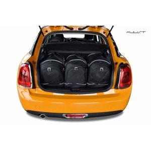 Kjust Mini Cooper | 3 deurs | bouwjaar 2014 t/m heden | Kjust Car Bags | set van 3