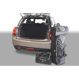 Car-Bags Mini Cooper | 3 deurs | bouwjaar 2014 t/m heden | CarBags reistassenset met Britse vlag logo