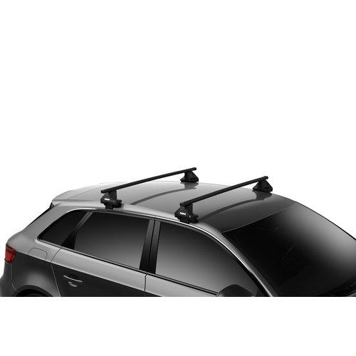 Thule Renault Fluence | sedan | bouwjaar 2009 t/m 2015 | glad dak | Thule SquareBar