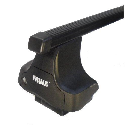 Thule Daewoo Nubira   sedan   bouwjaar 1997 t/m 2002   glad dak   Thule