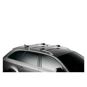 Thule Peugeot 2008 | bouwjaar 2013 t/m 2019 | open dakrailing | Thule Wingbar Edge
