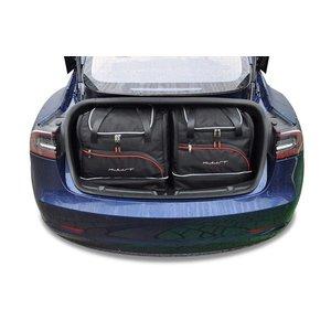 Kjust Tesla Model 3 | bouwjaar 2018 t/m heden | Kjust Car Bags | set van 5