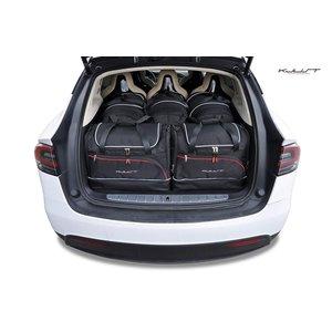 Kjust Tesla Model X | bouwjaar 2016 t/m heden | Kjust Car Bags | set van 5