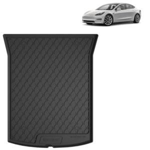 Rubber kofferbakmat Tesla Model 3 bouwjaar 2018 t/m heden