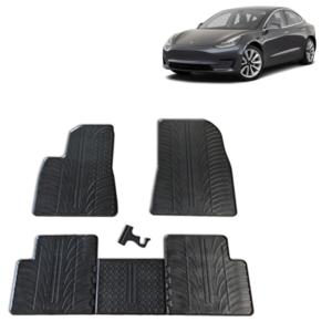Rubberen automatten Tesla Model 3 bouwjaar 2018 t/m heden