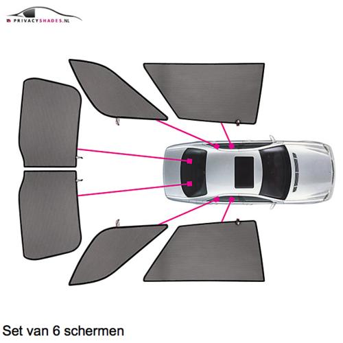 Carshades Audi A1   sportback   bouwjaar 2012 t/m 2018   CarShades
