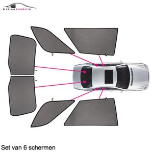 Carshades Mercedes A-Klasse | 5 deurs | bouwjaar 1997 t/m 2004 | lange wiel basis | CarShades