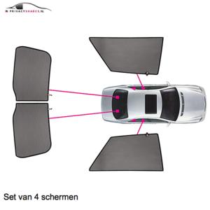 Carshades Jaguar XF | sedan | bouwjaar 2008 t/m 2015 | type met elektrische zonnescherm | CarShades