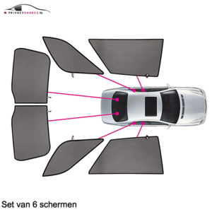 Carshades BMW 5 serie | sedan | bouwjaar 2004 t/m 2010 | CarShades