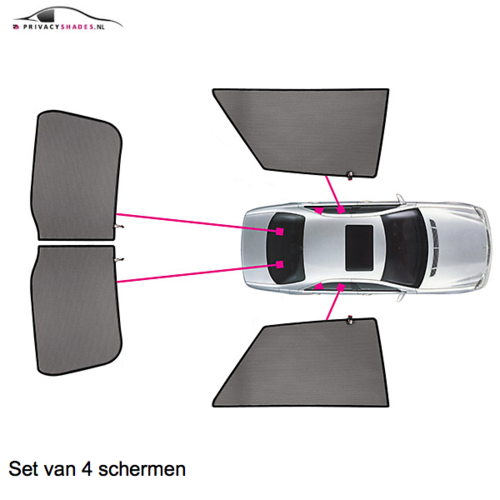 Carshades Audi A5   coupe   bouwjaar 2007 t/m 2016   CarShades