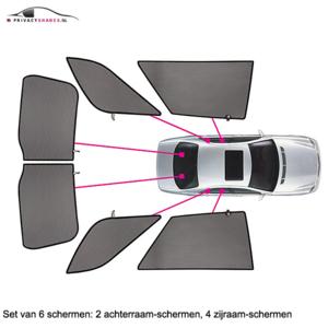 Carshades Alfa Romeo 147 | 5 deurs | bouwjaar 2000 t/m 2010 | CarShades