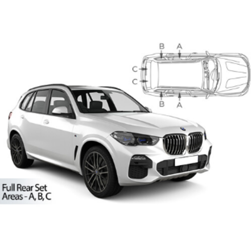 Carshades BMW X5   bouwjaar 2018 t/m heden   CarShades