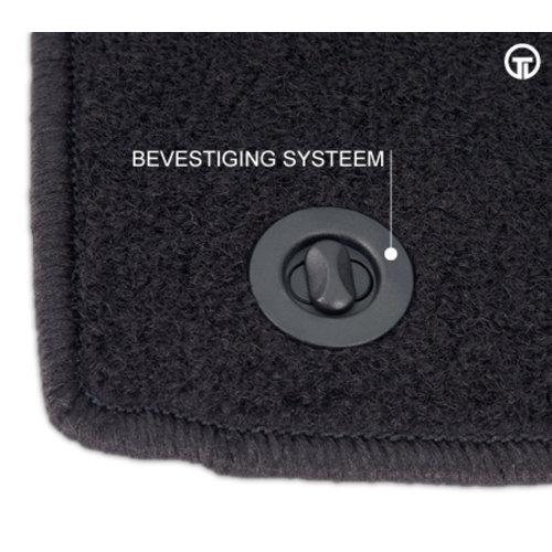 Naaldvilt automatten Automatten Fiat Punto Evo 3 deurs   bouwjaar 2014 t/m heden