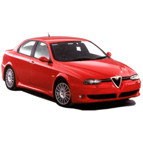 Carshades Alfa Romeo 156 | sedan | bouwjaar 1997 t/m 2006 | CarShades