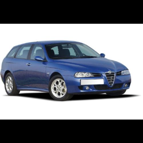 Carshades Alfa Romeo 156 | sportwagon | bouwjaar 1997 t/m 2006 | CarShades
