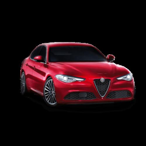 Zonneschermen voor de Alfa Romeo Giulia