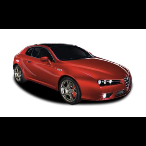 Zonneschermen voor de Alfa Romeo Brera