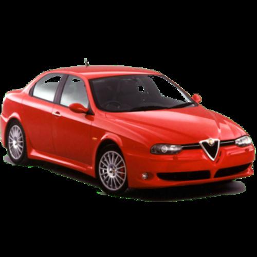 Zonneschermen voor de Alfa Romeo 156