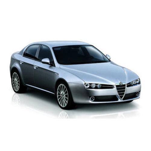 Zonneschermen voor de Alfa Romeo 159