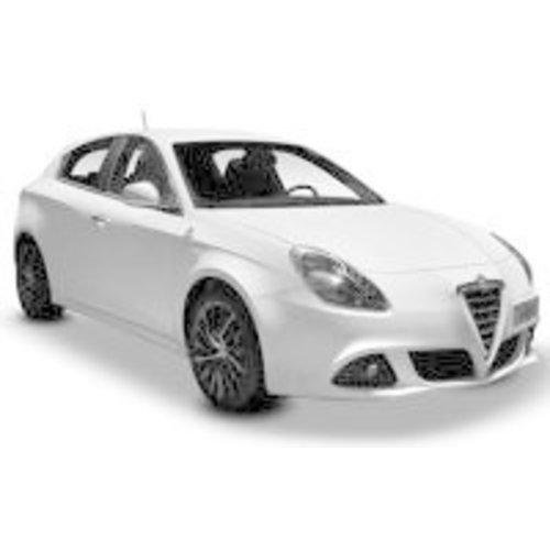 Zonneschermen voor de Alfa Romeo Giulietta