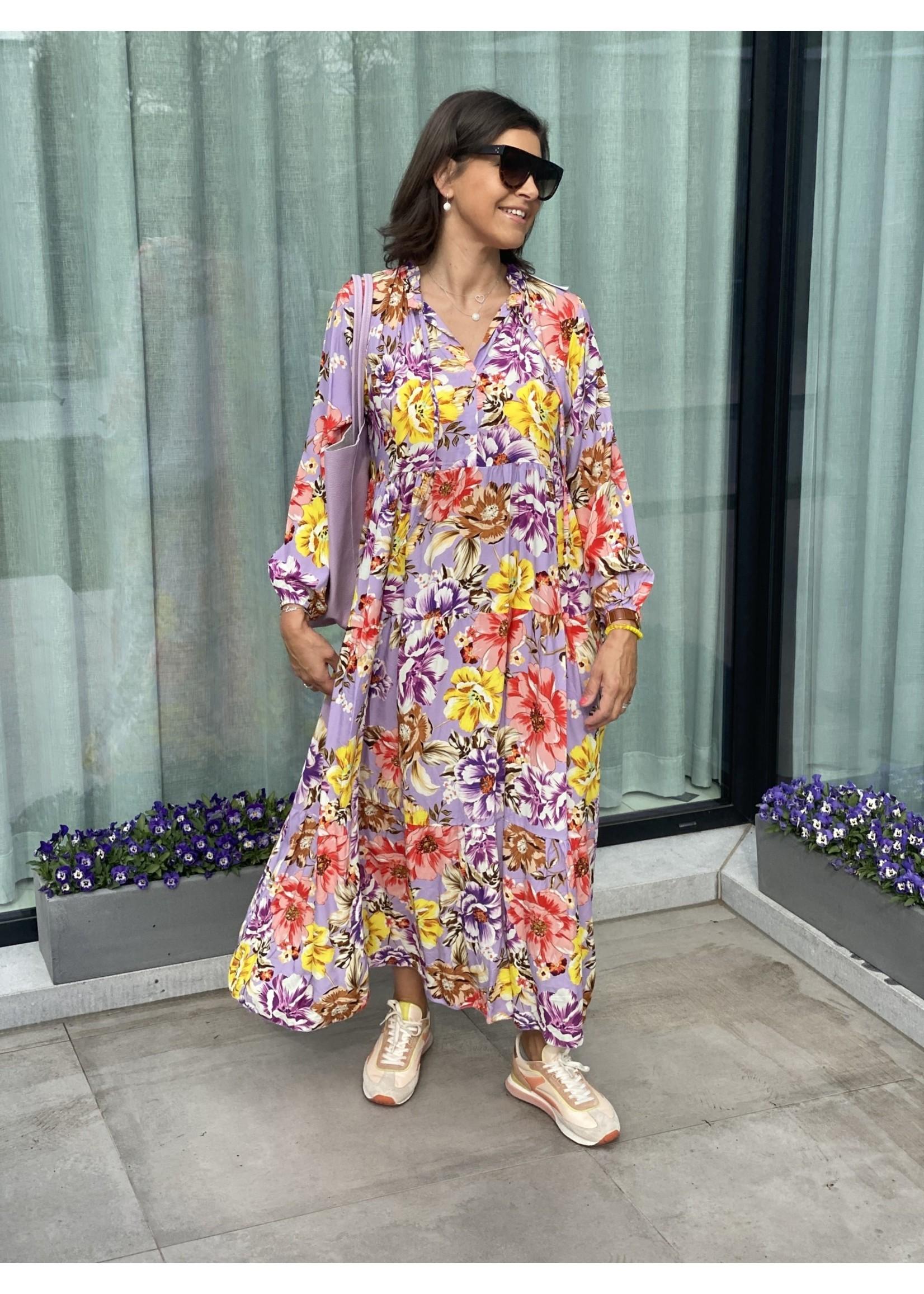 Flower Maxi dress