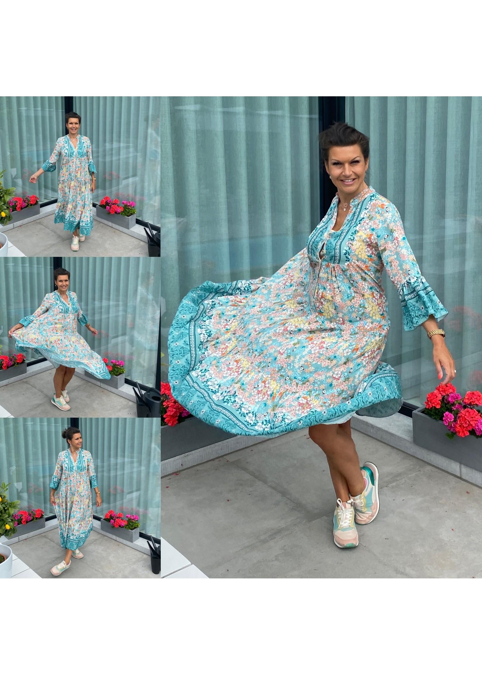 Maxi Dress Veldbloem